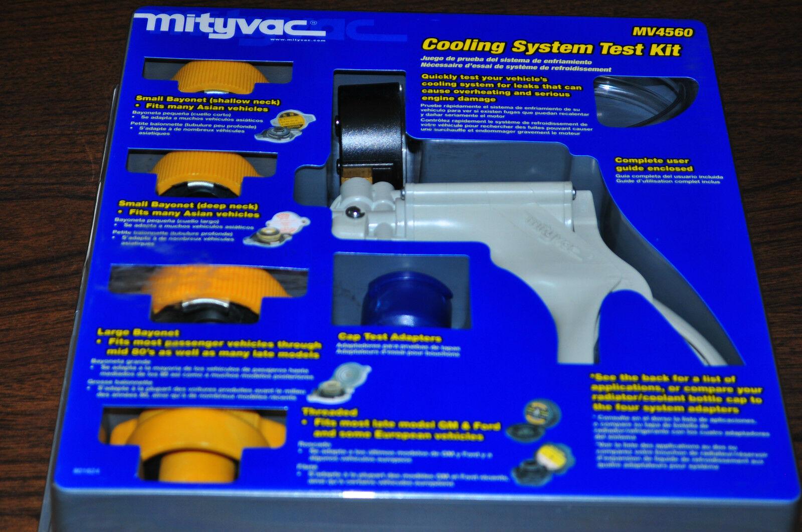 Mityvac MV4560 Cooling System Pressure Test Kit
