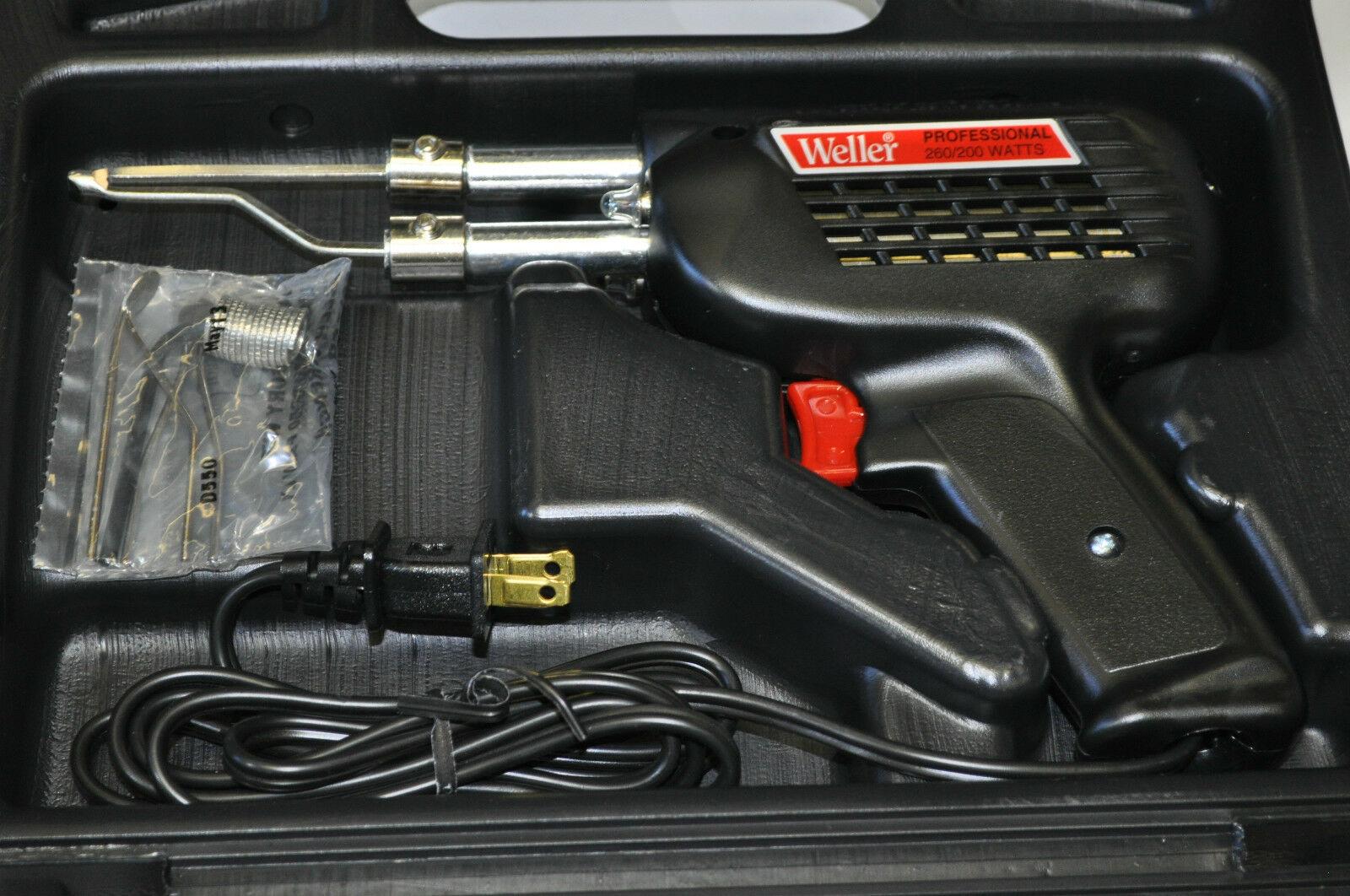 Weller D550PK 120volt 260//200watt Professional Soldering Gun Kit