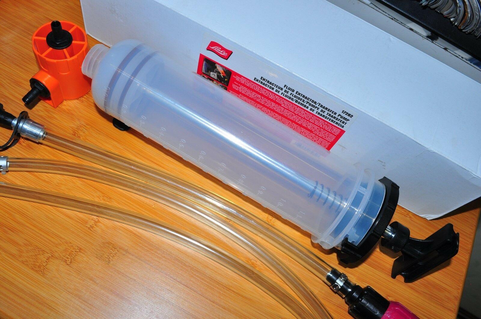 Transfer Pump Lisle 17282 Fluid Extractor